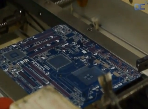 Como se fabrica una motherboard Gigabyte