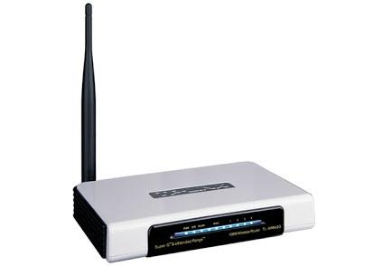 Reiniciar router TP-Link TL-WR642G