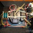 Interior de una maquina de soldadura por Aire Caliente