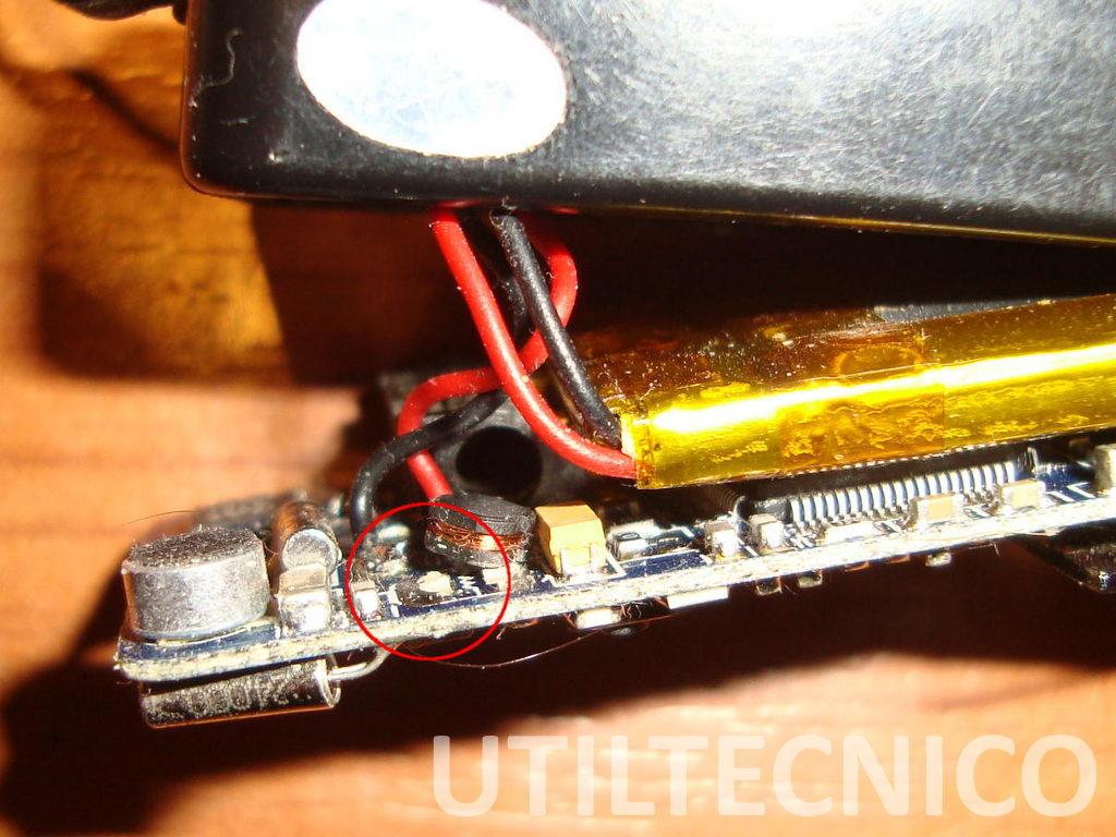 Reparación de MP3 que no enciende