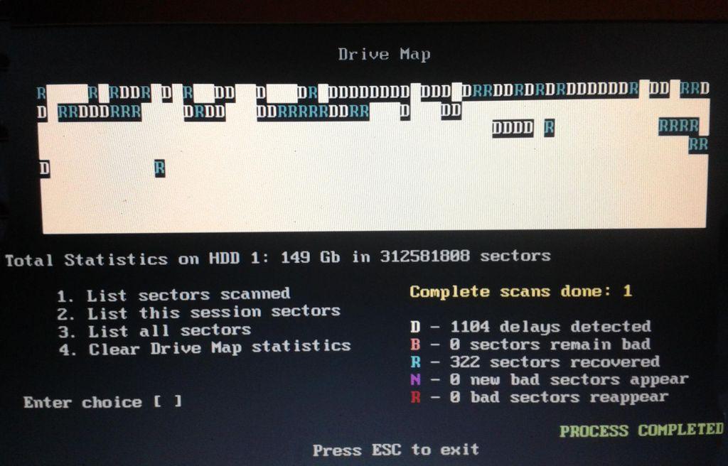 Programa para reparar discos duros