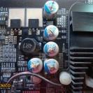 Capacitores reventados