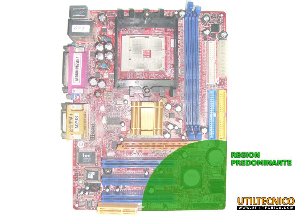 Conexión panel frontal en placa base