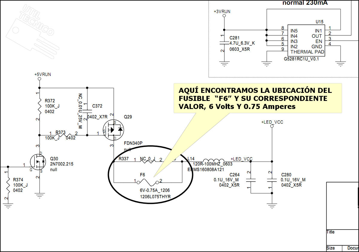 Como saber la posición de un componente o cable que acabas de quitar