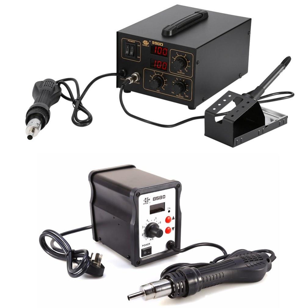 Herramientas para soldadura con estaño en electrónica
