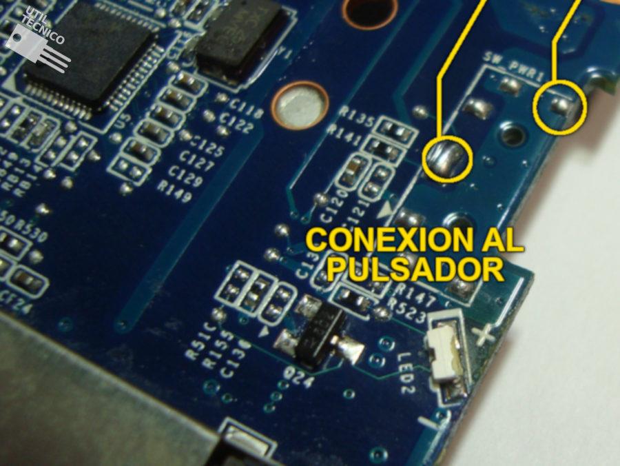 Reparación botón encendido HP Mini 110