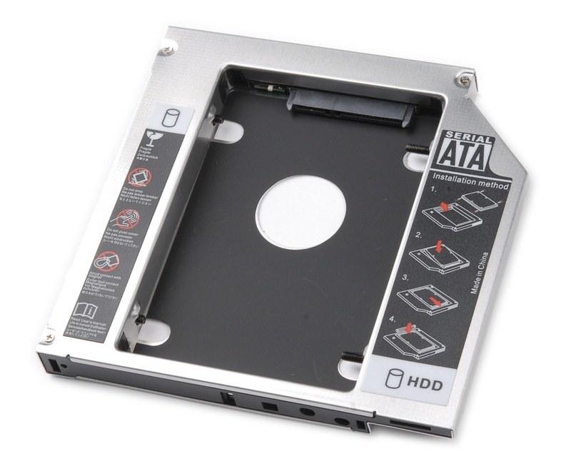 Adaptador DVD notebook a disco sata