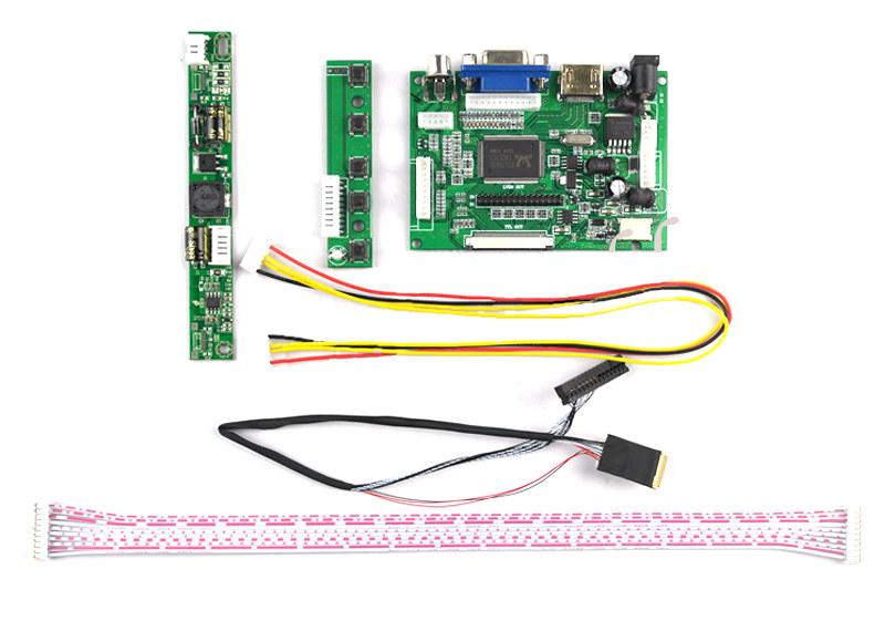 Adaptador de conexión LVDS a VGA