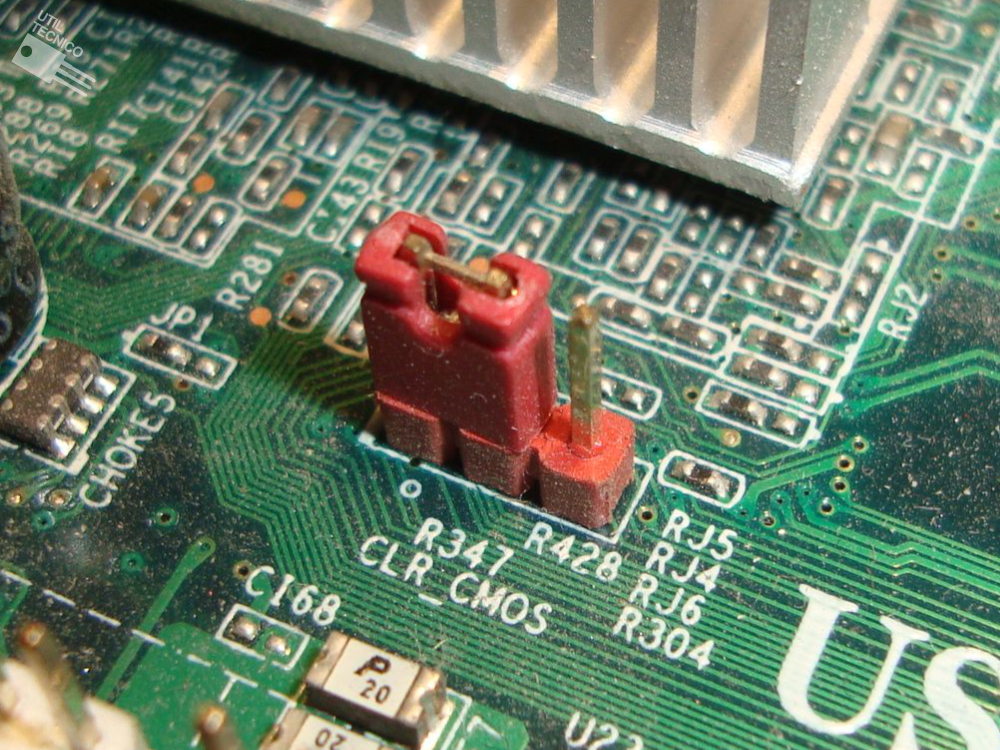 Como resetear el BIOS o hacer un Clear CMOS