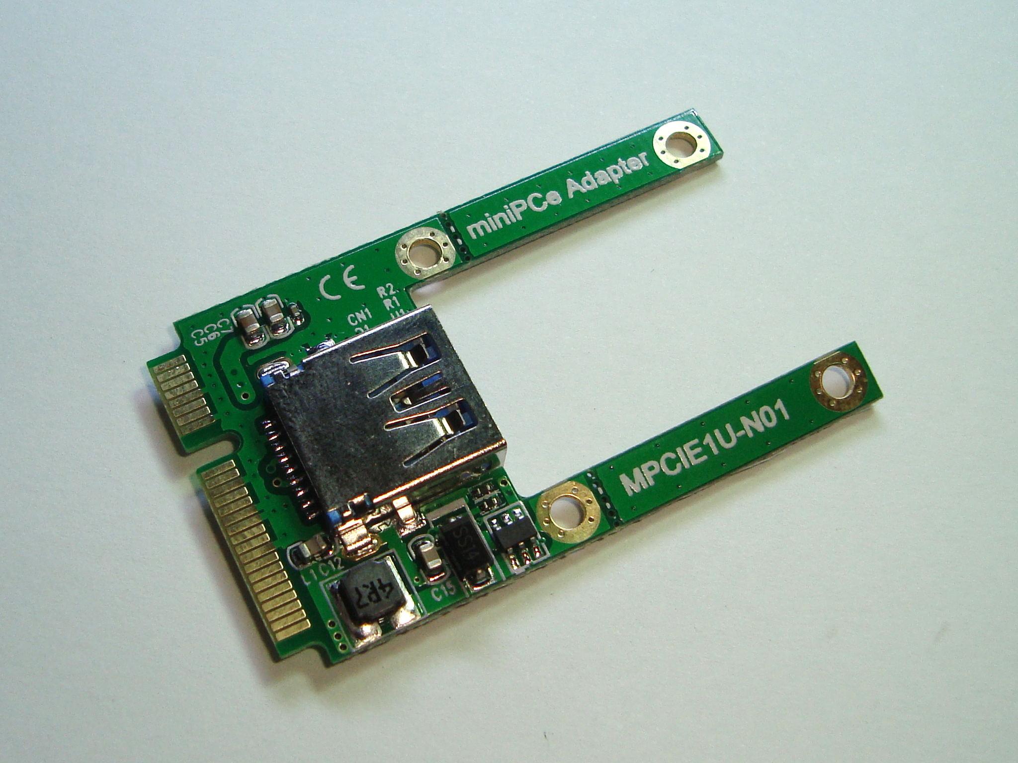 Adaptador Mini PCI Express a USB 3.0