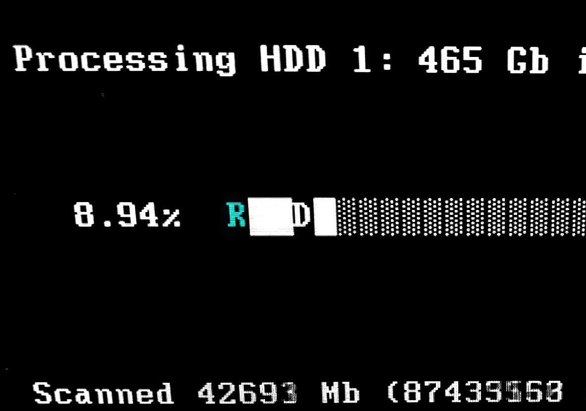 Reparar un disco con HDD Regenerator