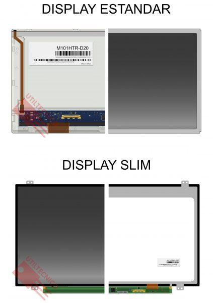 Como cambiar la pantalla de una notebook