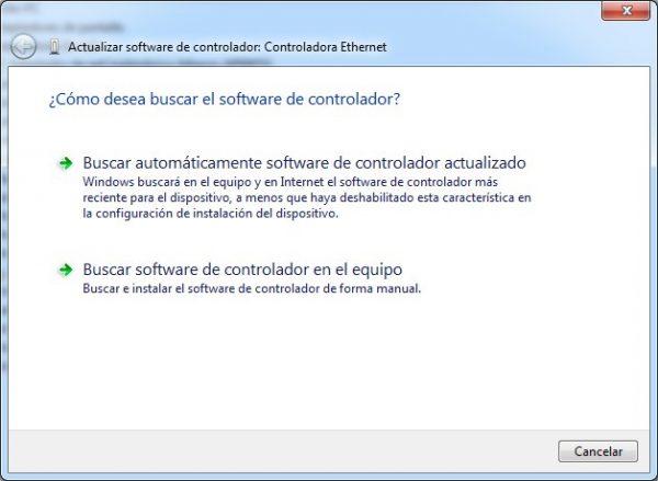 Como instalar un driver de forma manual en Windows