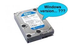 Como saber que versión Windows tiene instalado un disco si Windows no arranca